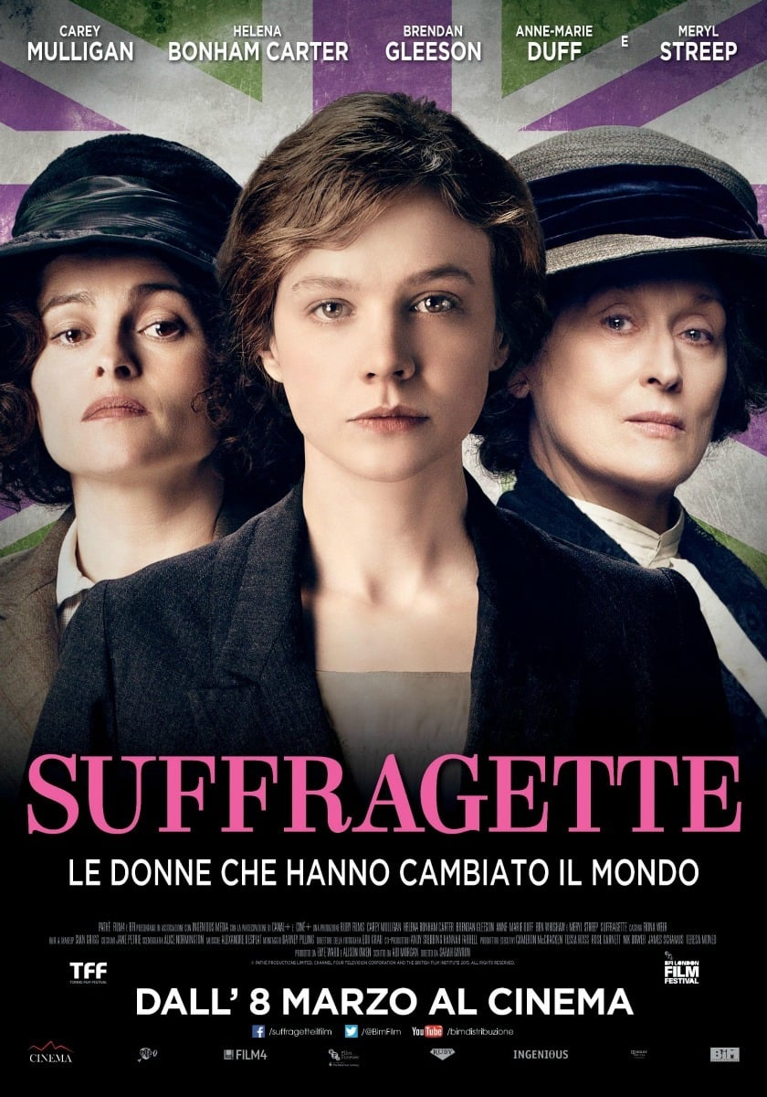 "Poster for the movie ""Suffragette"""