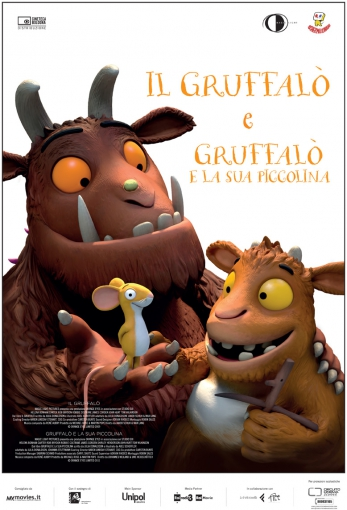 IL GRUFFALÒ E GRUFFALÒ E LA SUA PICCOLINA